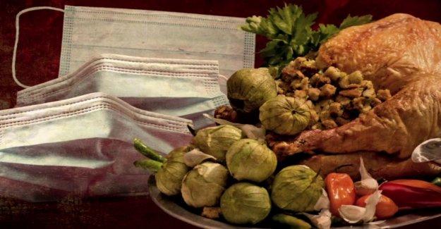 Par de usos depósito de cancelado la boda para alimentar a cientos de acción de gracias