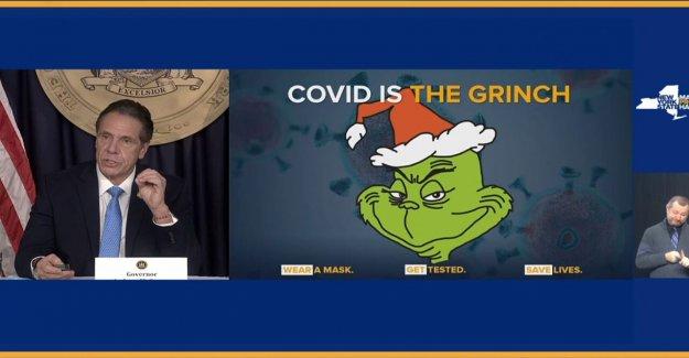 Cuomo criticado por llamar coronavirus 'el Grinch', después de aprovecharse de respuesta