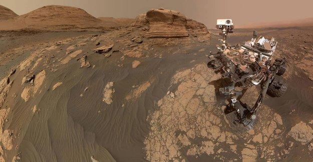 VER: de la NASA Curiosity rover de la toma de Marte selfie