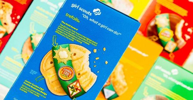 Girl Scouts rompe cookie-venta de récord con más de 30.000 cajas vendidas