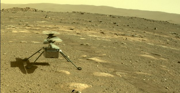 El 'Ingenio' del helicóptero de Marte de la NASA no puede tomar vuelo durante la cuarta carrera, reprogramado para el viernes