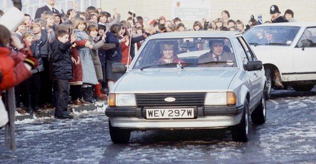 1981 Ford Escort de la princesa Diana subastado por 6 65,000