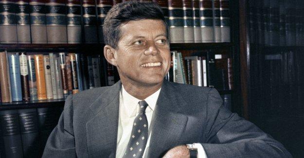 Cartas íntimas de JFK a la amante sueca en subasta