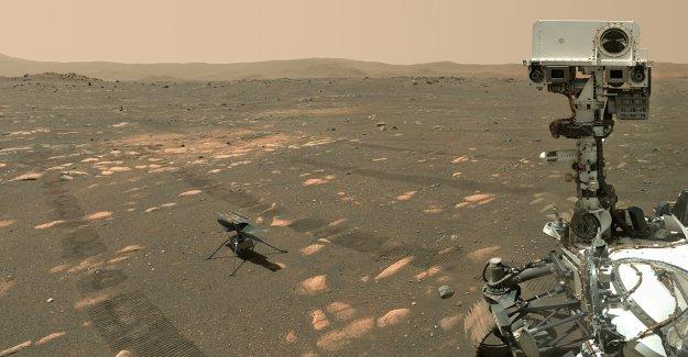 El Perseverance Mars rover de la NASA marca 100 días en el planeta rojo