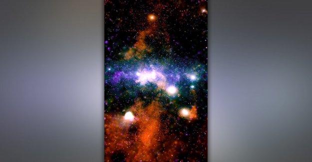 Increíble nueva imagen del Observatorio Chandra de la NASA revela coloridos hilos de la Vía Láctea