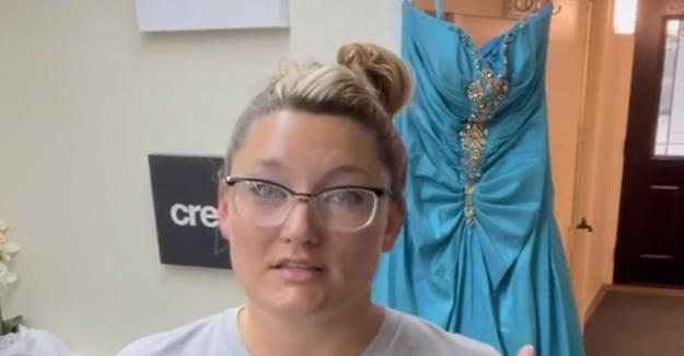 Dueño de la tienda encuentra misteriosa nota en donado vestido de fiesta: 'Darle una oportunidad'