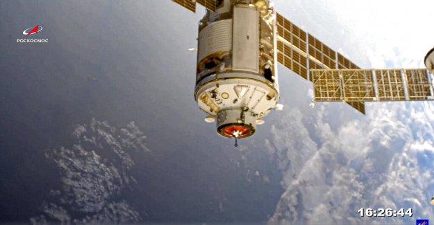 La Estación Espacial Internacional informa de susto después de problemas en el motor con el nuevo módulo ruso
