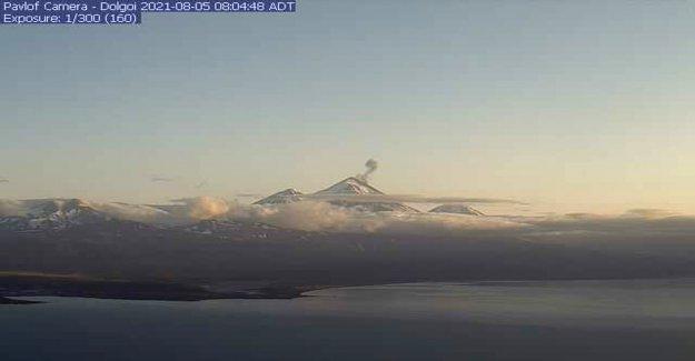 Tres volcanes están erupcionando simultáneamente en la cadena de islas de Alaska