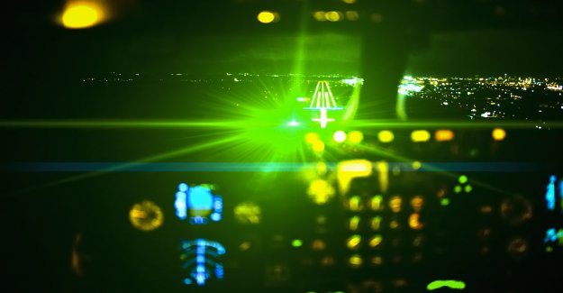 Los ataques láser en aviones aumentaron de 2019 a 2020