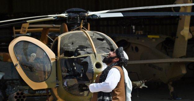 Los combatientes talibanes se sienten molestos y traicionados por el hecho de que los militares estadounidenses dejaran helicópteros que no funcionaban: informe