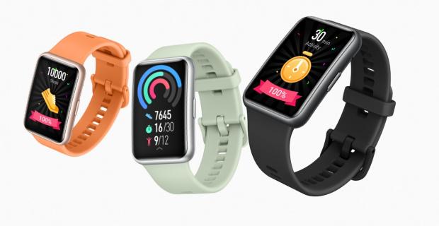Estas son las dos versiones del Huawei Watch Fit
