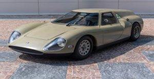Alfa Romeo Scarabeo, el concepto de hace 50 años