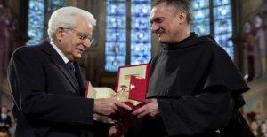 Asís, a Mattarella, la Lámpara de la Paz: el reconocimiento de Italia
