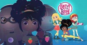 'Berry las Abejas', una nueva serie de dibujos animados en italiano y contó con tres jóvenes agentes secretos