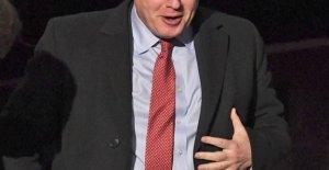 El más grave pecado, Boris Johnson, dijo: la bicicleta en la acera
