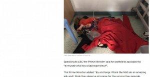 El reino Unido, la metedura de pata Johnson: ignorar la foto de un niño enfermo