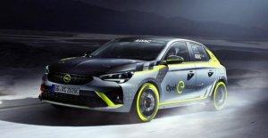 Idea de Opel: en el rally con un coche eléctrico