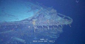 Islas malvinas, descubrió un crucero alemán de la Primera guerra mundial