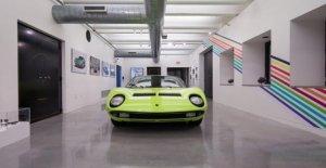 Lamborghini como una obra de arte a la Art Basel Miami Beach