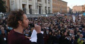 Las sardinas, las seis demandas del movimiento a la política. Menos violencia verbal, menos los ministros en la televisión y a través de los decretos Salvini