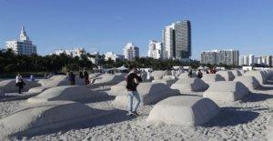 Miami Playa: el atasco de tráfico en la arena