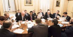 Para maniobrar, nueva cumbre para encontrar una solución de compromiso en la declaración de impuestos después de la pared de Renzi