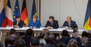 Rusia-Ucrania, en la cumbre de París, los primeros pasos hacia un deshielo