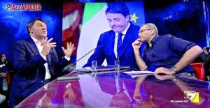 Si Formigli, el tweet de Renzi: en Los periódicos pidiendo privacidad para sus amigos. Y la doble moral