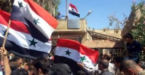 Tormenta en Más de la entrevista con Assad