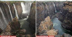 Zambia, la agonía de las Cataratas victoria: de un año a partir de ahora ya no existe