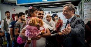 Corredores humanitarios, la llegada de nuevos 86 refugiados sirios en Líbano