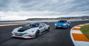 El Nissan Leaf Nismo RC, el coche eléctrico que llega a la pista