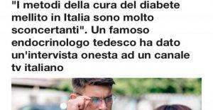 En Italia no sabes cómo curar la diabetes....