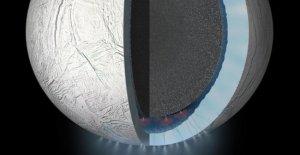 En el océano de Encélado posible, las condiciones de vida