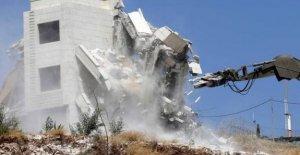 Israel, en el año 2019 demolido 169...