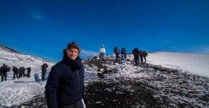 Las 'maravillas - La península de tesoros', Alberto Angela termina su viaje, y los pasillos del monte Etna