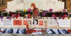 Malta, destrozaron el memorial de Daphne Caruana. Esta es la segunda vez en 3 días