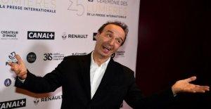 Roberto Benigni, carrera premio en París. He aquí mi corazón, yo te regalo