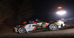 Sale de monte carlo, la aventura de el Abarth 124 rally
