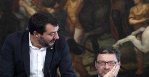 Salvini insultos de la República. Giorgetti: No pelea con Mateo