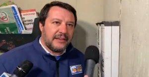 Salvini para la intercomunicación, la investigación en un mariscal de los carabinieri