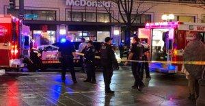 Seattle, abrir fuego contra la multitud, y huye: un muerto y ocho heridos, golpear a un niño