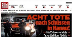 Alemania, disparando a Hanau (Hesse): 8 muertos y 5 heridos