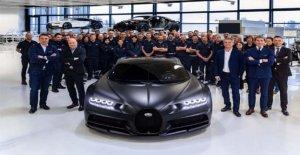 Bugatti Chiron, el producto, el 250esimo ejemplar