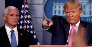 Coronavirus, Trump: Italia está en dificultad, evaluamos si bloquean los vuelos, pero en el momento adecuado