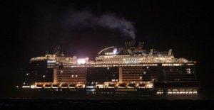 Coronavirus, el buque Msc Meraviglia a la espera de atraque autorizado en México. Las protestas en el suelo