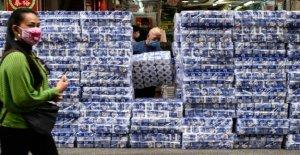 Coronavirus, el robo a mano armada en Hong Kong para el papel higiénico