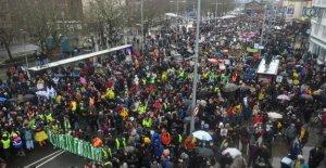 El clima, Greta habla en frente de 30 mil personas en Bristol: el cambio llegará