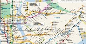 El metro de Nueva York, la muerte de el padre de el mapa icónico: uno de los más consultados en el mundo