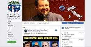 El sitio falso en Salvini recoge 63 mil fans. Muchos jugadores no son conscientes de la burla y ejecutar a comentar